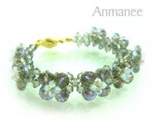 Handcrafted Swarovski Crystal Bracelet - Pikul Specail 010272