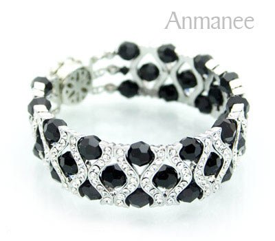 Handcrafted Swarovski Crystal Bracelet - The Queen 010288