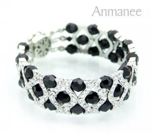 Handcrafted Swarovski Crystal Bracelet - The Queen 010288