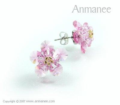 Handcrafted Swarovski Crystal Earrings 010319
