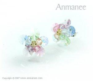 Handcrafted Swarovski Crystal Earrings 010323