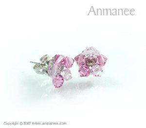 Handcrafted Swarovski Crystal Earrings 010326