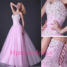 2014  high-grade strapless Nail bead prom dress formal cocktail dress evening dress
