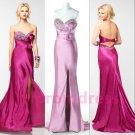 2015 New strapless long evening dress sexy bridal dress long prom dress