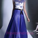 2015 New blue lace prom dress long evening dress sexy bridal dress long prom dress