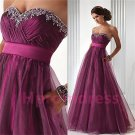 2015 New elegant strapless sexy beads prom dress Bridesmaid dresses