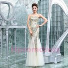 2015 New sexy sequins mermaid evening dress custom size color long prom dress