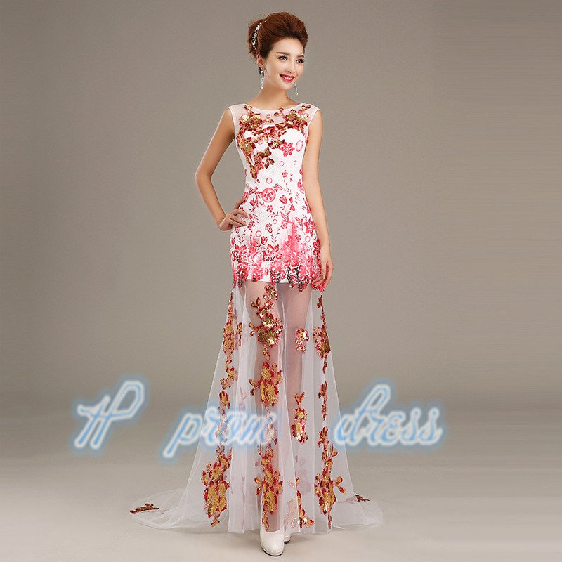 2015 New spaghetti strap evening dress Sister group long prom Dress Bridesmaid Dress