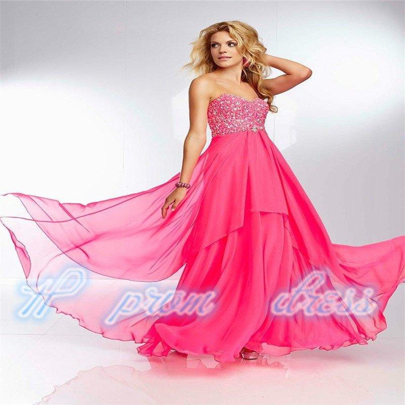 2015 New Bridesmaid Prom Evening Dress Custom Size