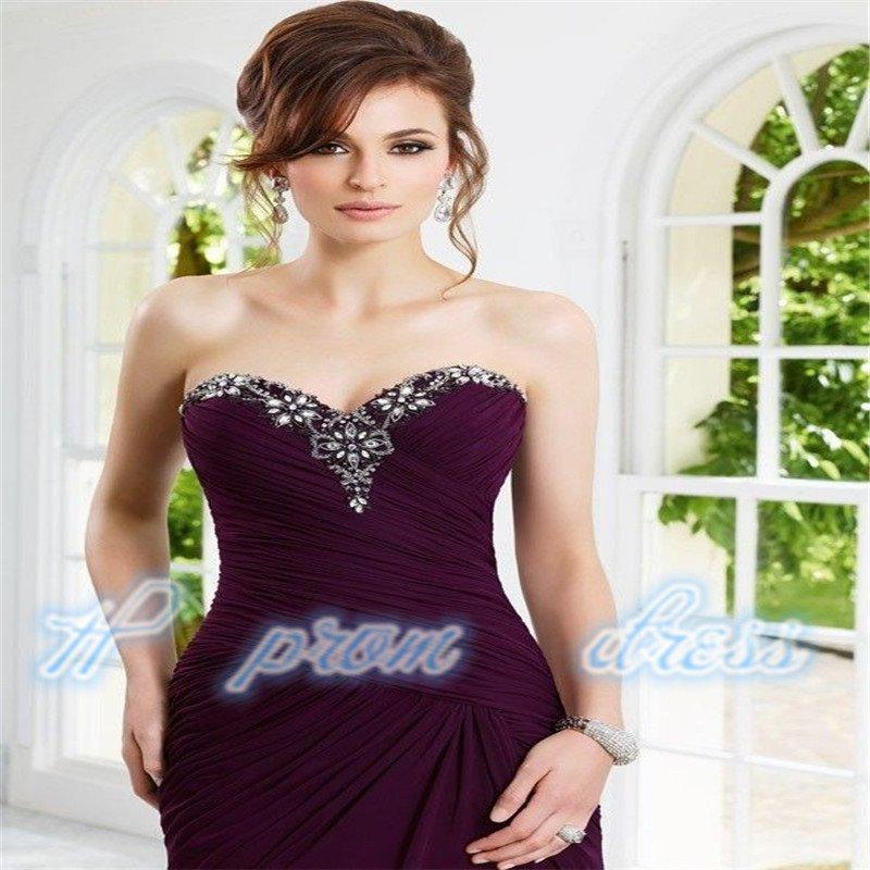 chiffon Formal Ball Long Wedding/Evening Dress Bridal Party Gown Prom custom