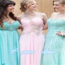 Gorgeous Pink Sweetheart Neckline Prom Dress