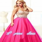 Pretty Beautiful Chiffon Lace Up Wedding Party Gown Prom Ball Cocktail Dress