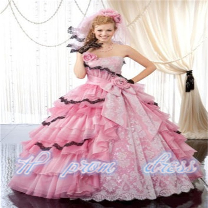 Lace Ball Gown Prom Dress Formal Party Gown custom all size
