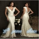 Mermaid Strapless Applique Lady Pageant Dress Formal Party Evening Long Gown