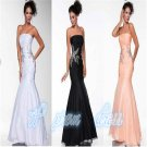 Chiffon Mermaid Long Party Prom Gown Bridal Gown Celebrity Evening Dress Custom