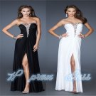 Full-Length Chiffon Formal Party/Evening/Prom Gown size 6 8 10 12 14