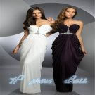 Beading Sweetheart Chiffon Bridal Wedding Party Prom Gown Formal Evening Dress