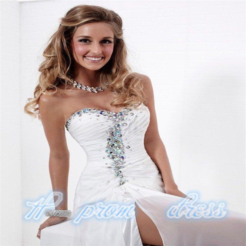 Long Wedding Bridesmaid Prom Ball Evening Chiffon Dress Cocktail