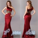 Long Chiffon Evening Formal Bridesmaid Prom Party Dresses