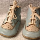 Baby Shoes  Trainers Vintage 1950s Blue