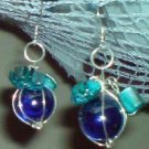 Blue Baubles Earrings