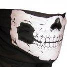 2 X Skull Half Face Bandana Skeleton Ski Motorcycle Biker Paintball Mask