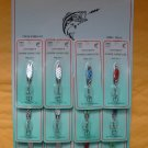 LURES Snapper HOLO Spoon Kastmaster Style 1/4 OZ 12 PCS VERY UNIVERSAL