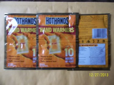 3 X HEAT FACTORY  MINI WARMERS 2/PACK