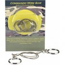 """2 X Commando Wire Saw Camping Survival Hunting 24"""""""
