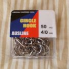 Octopus Circle Hooks sz 4/0 pc100 Chemically Sharpened