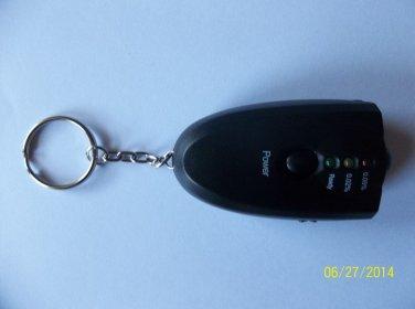 2 X Personal Breathalyzer Keychain With Flashlight