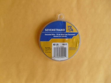 Sevenstrand 1 X 7 STRAND Stainless steel 40 LB uncoated 100 FT FREE USA SHIPPING