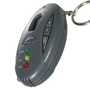 ALCOHOL BREATH TESTER WITH FLASHLIGHT