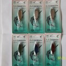 LURES Snapper HOLO Spoon Kastmaster Style 1/2 OZ 6 PCS UNIVERSAL LURE