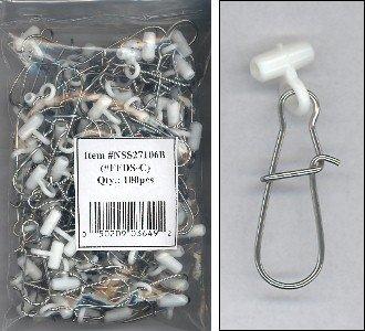 Fish Finders Line Sinker Slides bag of 100 WHITE HEAVY DUTY