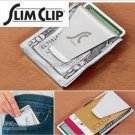 2 X SLIM CLIP NEW DOUBLE SIDED MONEY CLIP WALLET FREE USA SHIPPING