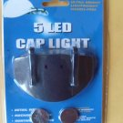 5 LED CAP LIGHT CLIP-ON REPLACEMENT BATTERIES CR2032-12
