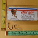 EAGLE CLAW LIVE BAIT TUNA WAHOO STRIPER HOOK 2/0 pcs100