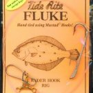 TIDE RITE FLUKE RIGS WITH MUSTAD RYDER HOOK 12 PACKS