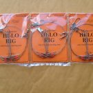 3 PACKS TIDE RITE HI-LO RIGS 2/PACK TOTAL 6 RIGS