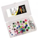 Lindy X-Change 48 Piece Jig Kit, 1/4 and 3/8 oz. MADE IN USA
