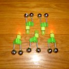 FISHING ROD TWIN BELL WITH TIP LIGHT 6 PCS FREE USA SHIPPING