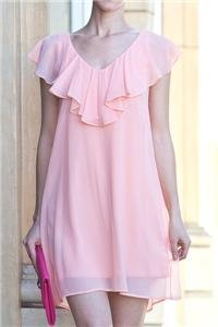 Womens Small Dress NWT Womens Peach Mini Dress Soul of the Sea ~~~~