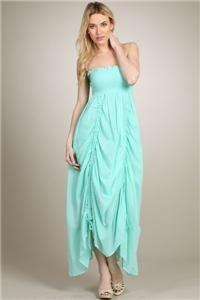 Womens Medium Dress NWT Womens Medium Beach Dress Mint Green Soul of the Sea