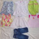 Infant Size 6 Months Top Jeans Dress Outfits 6-9 Months 7 Pieces Ex Cond ~~