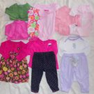 Infant Size 6 Months Top Pant Dress Outfits 6-9 Months 12 Pieces Ex Cond ~~