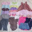 Infant Size 3 Months Top Pants Skirt PJs Onesie Outfits 19 Pieces Ex Cond ~~~~~~