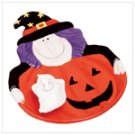 34789 Halloween chip and dip platter