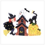 34898 Halloween table screen