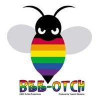 Gay Pride BEE-OTCH Bumper Sticker